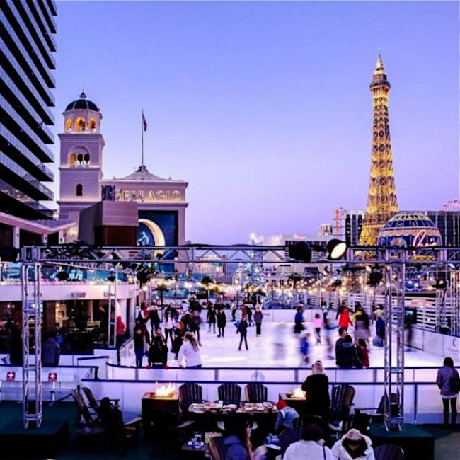 Cosmo Ice Rink Vegas